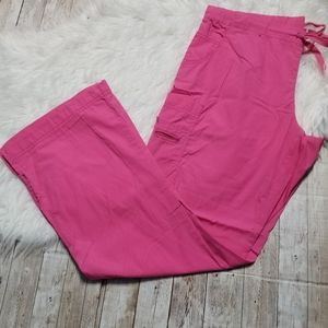 Peaches pink scrub pants
